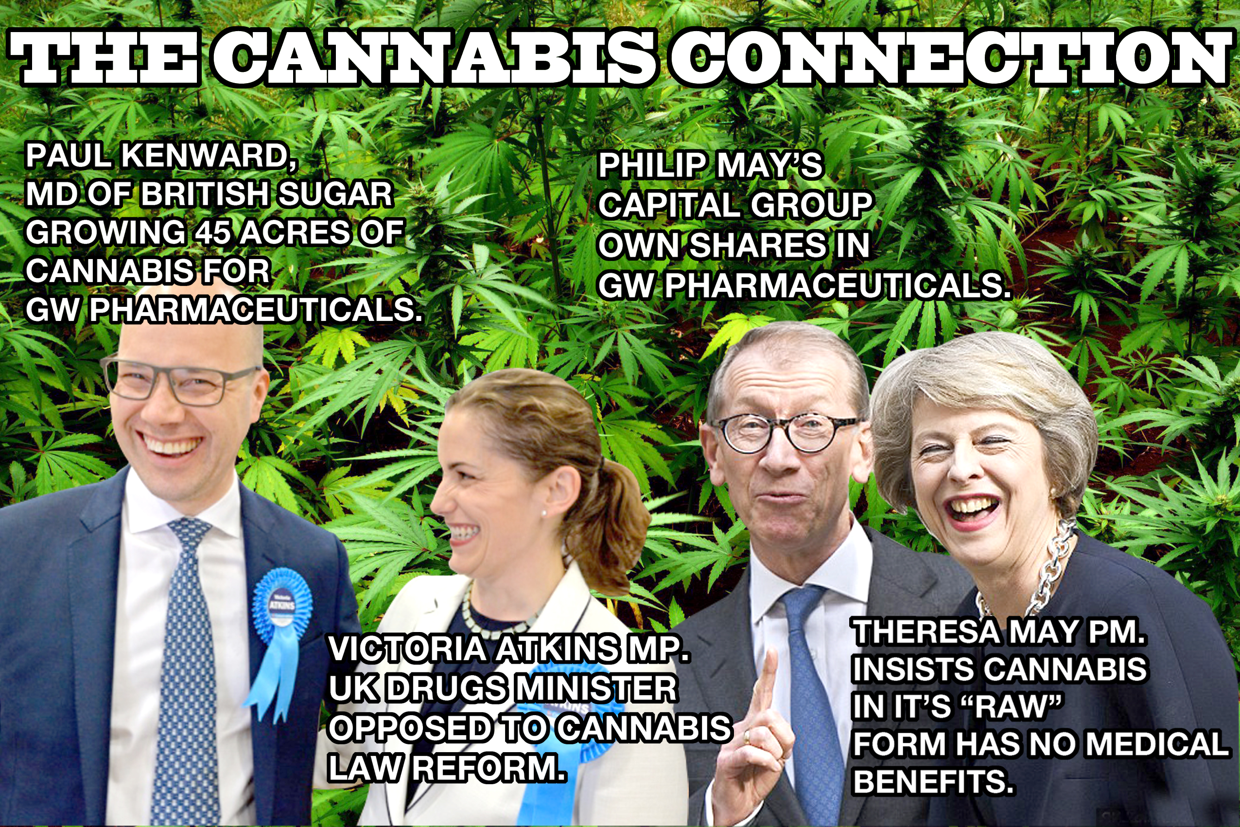 The Cannabis Connection - UK Goverment's vested interests in Cannabis